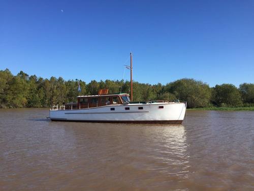 Crucero Ortholan Restaurado 13,3m (permuta Posible Consulta)