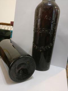 Botella De Cerveza De 1888