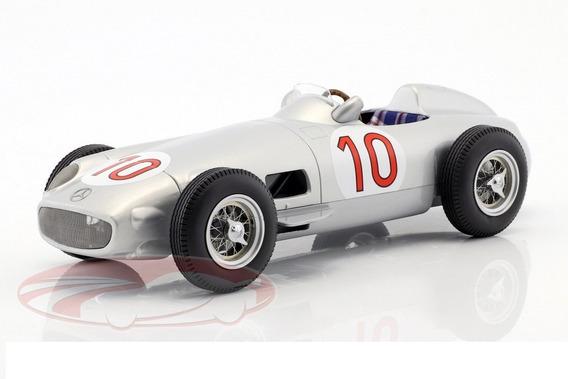 Mercedes Benz W196 # 10 J.m Fangio Campeon 1955 Escala 1/18