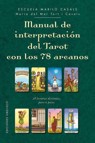 Manual Interpretacion Tarot 78 Arcanos - Marilo Casals Libro