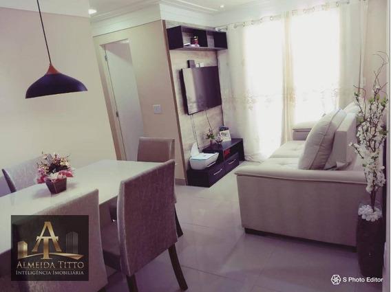 Excelente Apartamento Disponível Para Locação No Condomínio Portal Primavera Em Jandira - Confira!!! - Ap1748