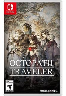 Octopath Traveler Nintendo Switch Nuevo Y Sellado