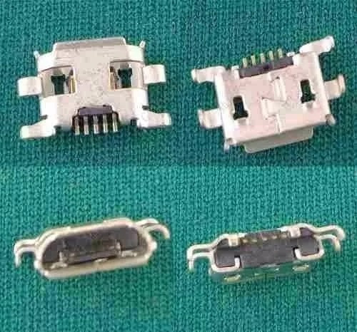 Kit 3 Conector Energia Usb Celular Cce Sk352