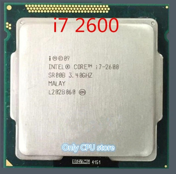 Processador I7 2600 3.40ghz 8mb Cache 4 Núcleos Lga 1155