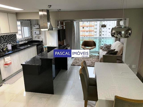 Imagem 1 de 15 de Apartamento Campo Belo 02 Dormitorios 02 Vagas - V-12735