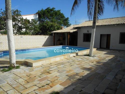 Maravilhosa Residencia Na Praia De Cordeirinho - Maricá/rj - Ca3697