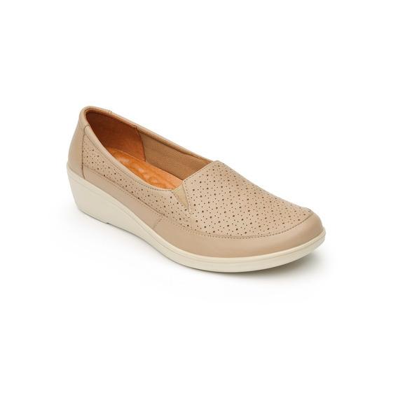 Zapato Flexi Dama 45601 Beige
