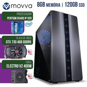 Computador Gamer Mvxp Pentium 3.7ghz 8ª Ger. Mem. 8gb Ssd120
