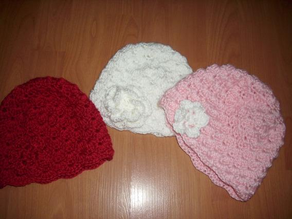 Gorro Tejido Al Crochet