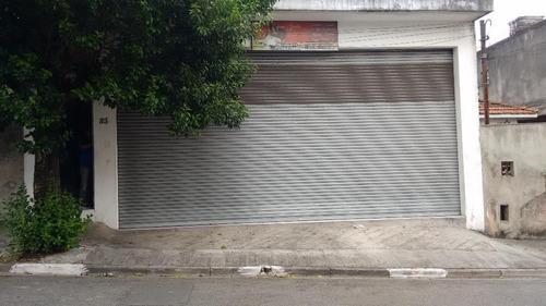 Salão Comercial Para Locação, Jardim Nove De Julho, São Paulo. - Sl0364