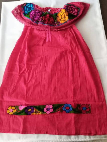 Vestido Artesanal (campesino) Bordado