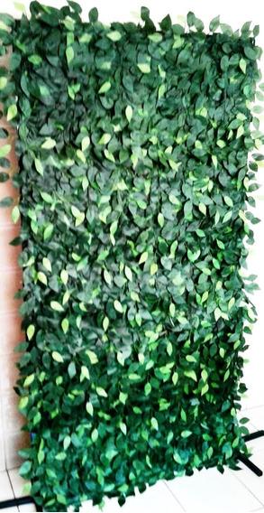 Muro Inglês Artificial Folhas Hera 2 X 1 Mts Decoração Flora
