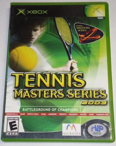 Juego Original Tennis Master Series Xbox Usado Ntsc Oferta
