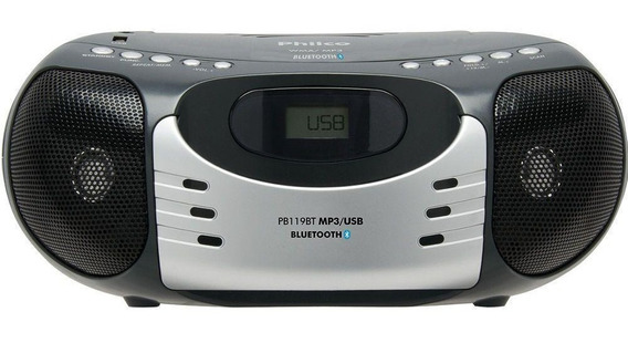 Rádio Philco Pb119bt Fm Bluetooth Mp3 Usb
