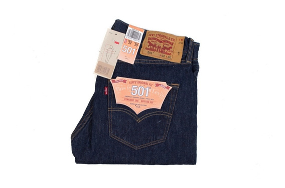 Jeans Hombre Levis 501 The Original Button Fly Original