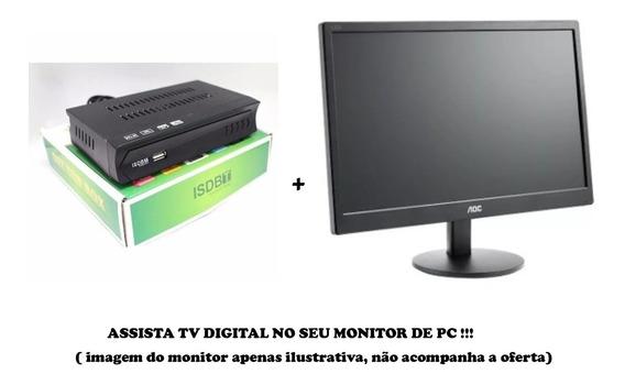 Transforme Seu Monitor Em Tv Digital Com Controle