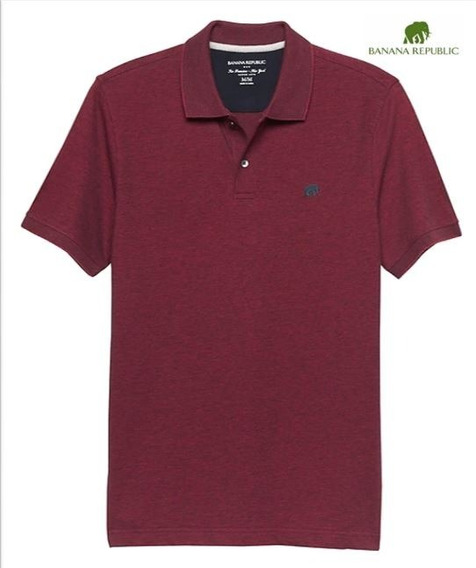 Birdseye Pique Polo Banana Republic 100% Original