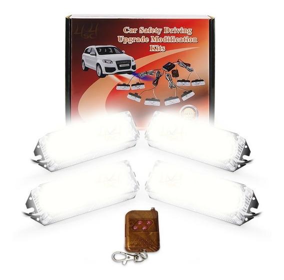 Strobo Led 24w C Controle Efeitos P/ Caixa De Som Automotivo