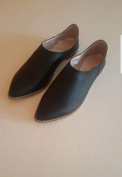 Chatita Zapatos Cuero Ecológico
