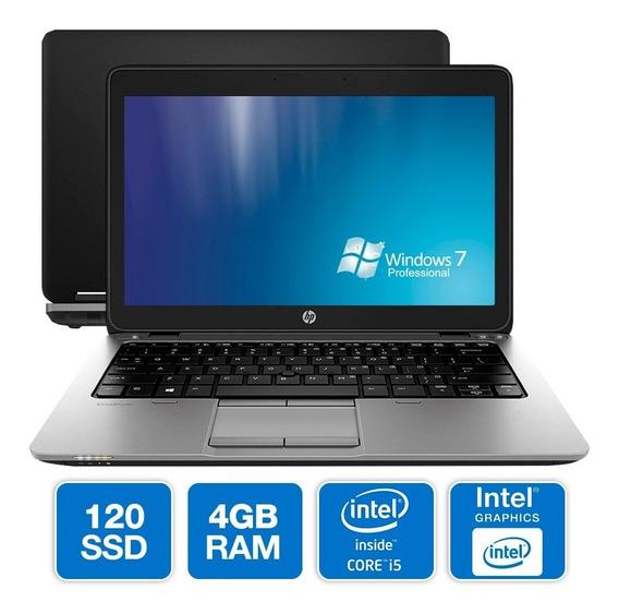Notebook Hp Intel Core I5-4300u 4gb Ssd 120gb Seminovo Loi