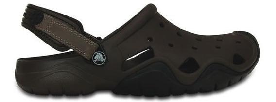 Zapato Crocs Caballero Swiftwater Clog Espresso