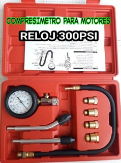 Kit Compresimetro O Medidor De Compresion De Motores