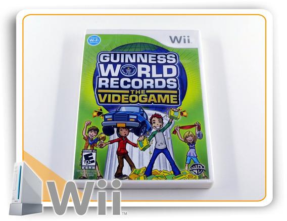 Guinness World Records The Videogame Original Nintendo Wii