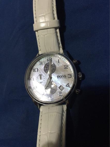Reloj Blanco Unisex Hugo Boss