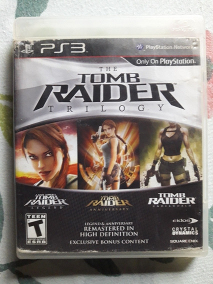 The Tomb Raider Trilogy Playstation 3