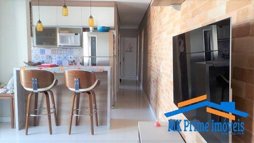 Imagem 1 de 8 de Lindo Apartamento , 3 Dorms E 2 Banheiros 78 M² .. - 2038