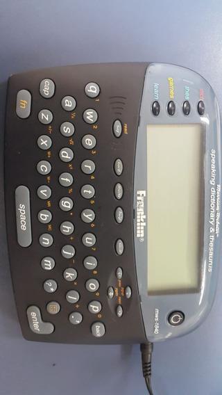 Tradutora Eletrônica Franklin Dbp-2076