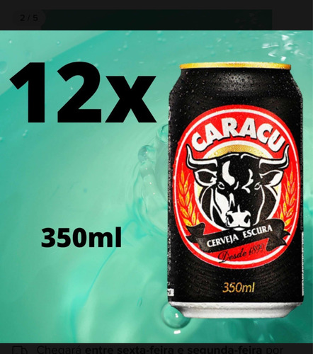 Caracu Cerveja Preta 350ml