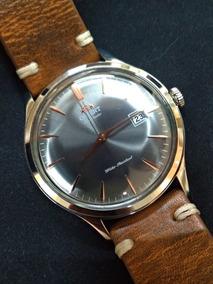 Relógio Orient Bambino Automatico V4 Cinza Sac08003a0