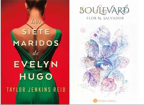 Imagen 1 de 1 de 2 Libros Los Siete Maridos De Evelyn Hugo Y Boulevard