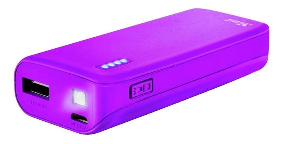 Power Bank Trust Primo Neon 4400 Usb Cargador Celular