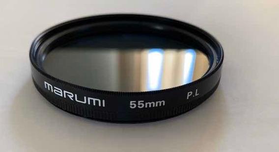 Filtro Polarizador Marumi 55mm - Japan