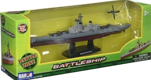 Barco Militar De Colección A Escala Battleship Batall Naval