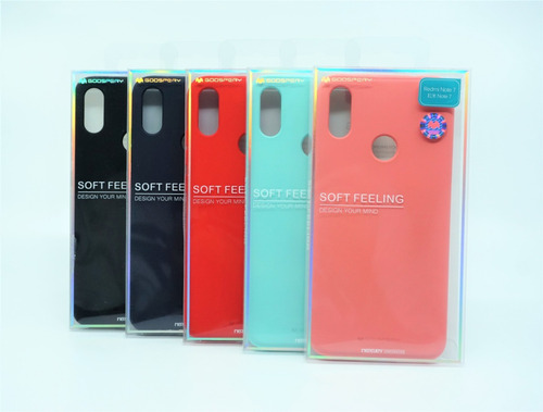 Funda Xiaomi Redmi Note7 Mercury Goospery Soft Feeling