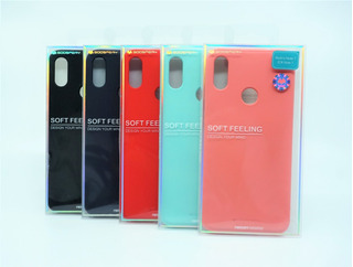 Funda Xiaomi Redmi Note7 Mercury Goospery Soft Feeling