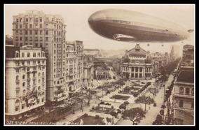 Postal Rio De Janeiro Zeppelin # 02