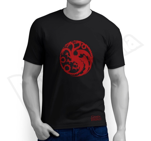 Camiseta Game Of Thrones -  Targaryen