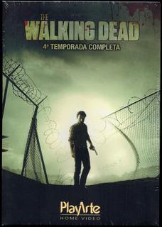 The Walking Dead 4ª Temporada Completa Box 5 Dvds - Lacrado