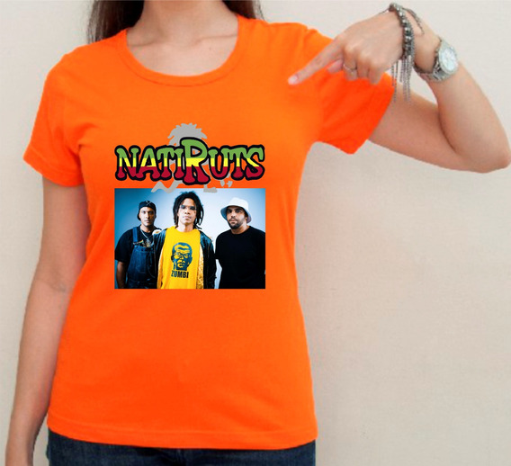 Camiseta Ou Baby Look Natiruts 02