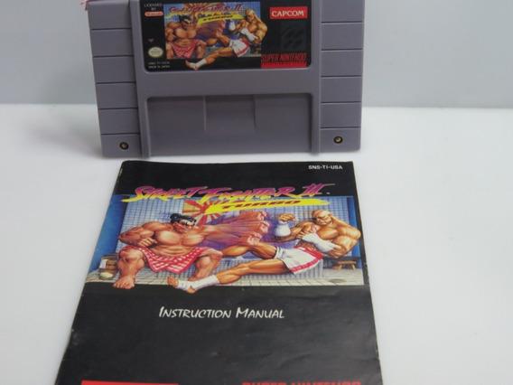Cod 311 - Street Fighter 2 Turbo Original Snes Nintendo