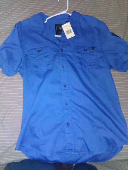 Playera Calvin Klein, Guess, Polo Manga Larga