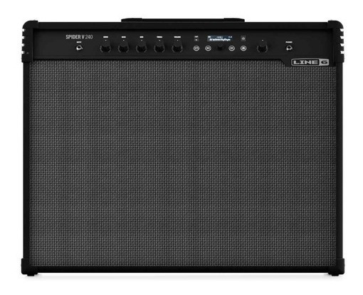 Ftm Line 6 Spider V 240 - Amplificador Combo Guitarra Fxs -
