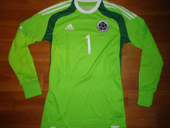 Camiseta Colombia Original Arquero M.larga Utileria 1 Ospina