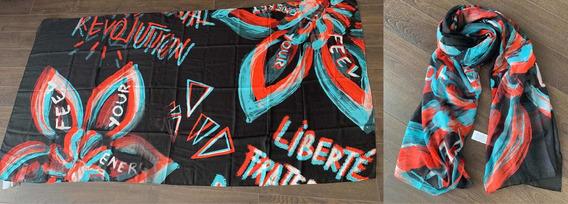 Pashmina Desigual Liberté , Mujer, Bufanda Pareo