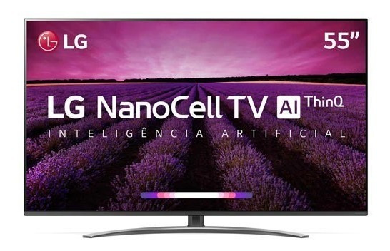 Smart Tv Nanocell 4k Lg Led 55 Webos 4.5 55sm8100psa
