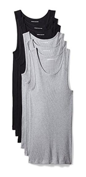 Essentials Men S 6-pack Tank Undershirts